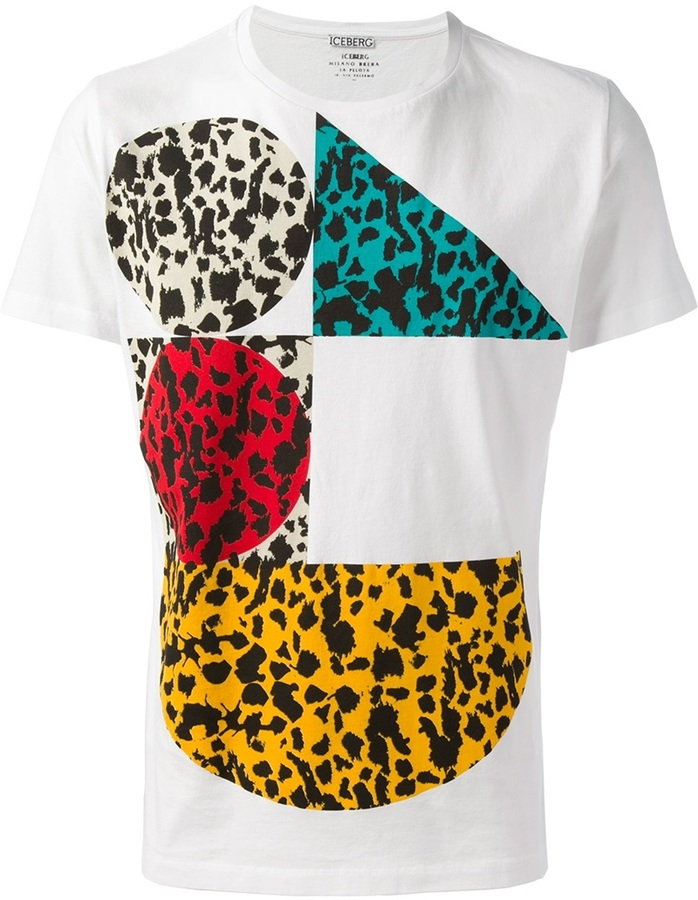 Iceberg Printed T Shirt | Where to buy & how to wear