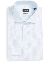 Ermenegildo Zegna Regular Fit Geometric Dress Shirt