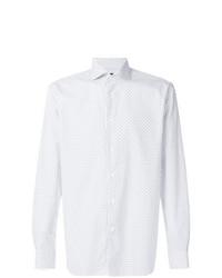 Corneliani Diamond Printed Shirt