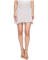BB Dakota Jack By Falana Saharan Geo Printed Crinkle Poly Smocked Skirt Skirt