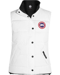 Canada Goose Freestyle Quilted Shell Down Gilet White