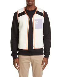 A.P.C. Gilet Future Shock Faux Shearling Vest