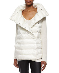 Ralph Lauren Black Label Shawl Collar Puffer Vest