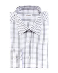 White Gingham Dress Shirt