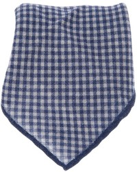 Brunello Cucinelli Gingham Pocket Square