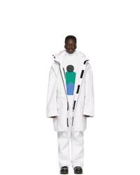 White Harrington Jacket