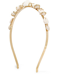 Rosantica Beatrix Gold Tone Shell Headband