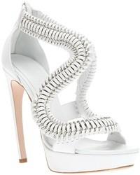 Chain high heel sandal medium 12223