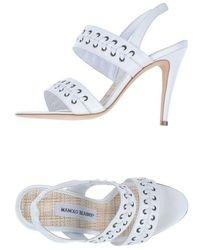 Manolo Blahnik High Heeled Sandals