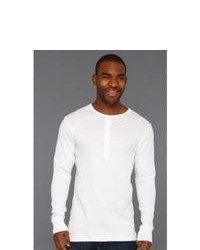 2(X)IST 2ist Essentials Ls Henley T Shirt White