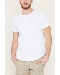 21men 21 Cotton Slub Knit Henley