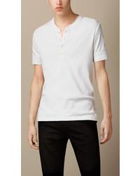 Burberry Brit Cotton Short Sleeve Henley