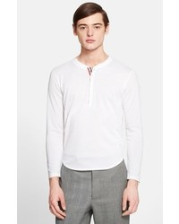 Thom Browne Cotton Piqu Henley