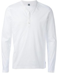 Eleventy Long Sleeve Henley T Shirt