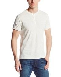 French Connection Short Sleeve Slub Henley Shirt