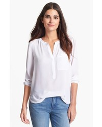 Henley blouse medium 191389