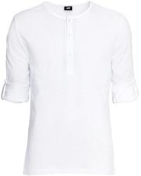 H&M Henley Shirt Gray