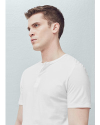 Mango Outlet Henley T Shirt