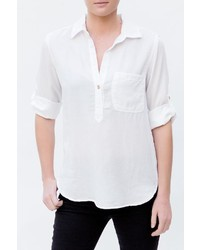 Glam Henley Tab Shirt