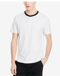 Kenneth Cole New York Jacquard Henley