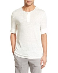 Linen jersey henley t shirt medium 661501