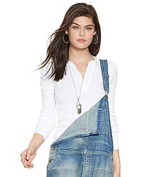 Polo Ralph Lauren Rib Knit Henley Shirt