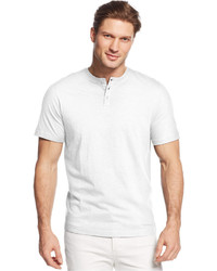 Tasso Elba Short Sleeve Henley Shirt Only At Macys