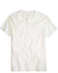Slim broken in short sleeve henley medium 186799