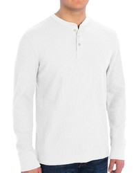 Specially Made Solid Thermal Knit Shirt