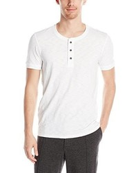 Vince Favorite Slub Cotton Short Sleeve Henley