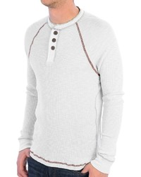 True Grit Waffle Thermal Henley Shirt