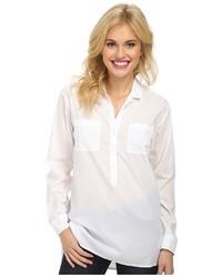 Lucky Brand White Henley Shirt