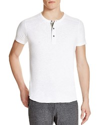 Wings Horns Slub Short Sleeve Henley