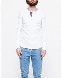 Wings + Horns 1x1 Slub Ls Henley