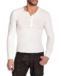 Ralph Lauren Black Label Ribbed Cotton Henley