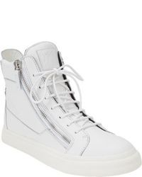 White High Top Sneakers