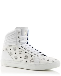 MCM Carryover High Top Sneakers