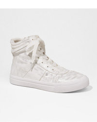Express High Top Side Zip Runway Sneaker