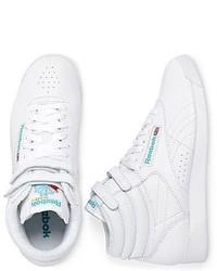 Reebok Freestyle High Top Sneakers, $50