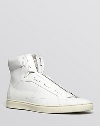 Hugo Boss Hugo Posseo Zip High Top Sneakers