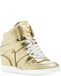 50642f1a3b52d ... MICHAEL Michael Kors Michl Michl Kors Nikko Lace Up High Top Wedge  Sneakers ...