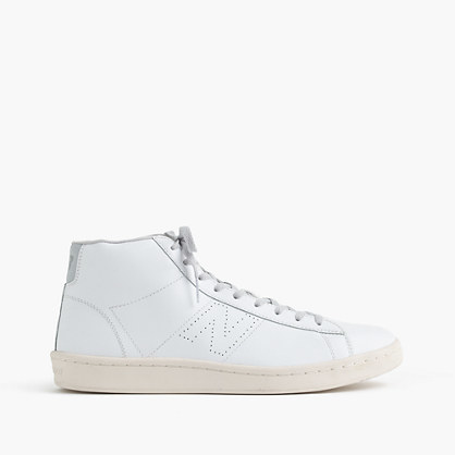 New Balance Leather High-Top Sneakers mfxQo1ec