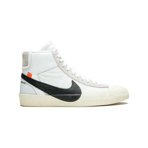 Off White Nike X The 10 Blazer Mid Sneakers 1 149 Farfetch Com