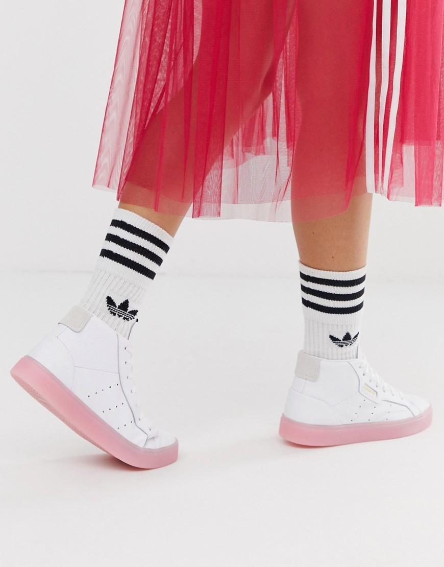 adidas Originals Sleek Mid Top Trainer