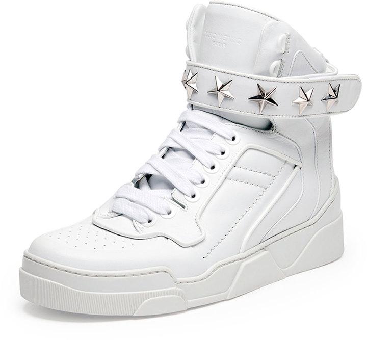 buy \u003e givenchy men's high top sneakers
