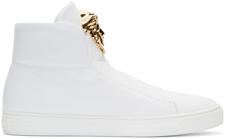 VERSACE Medusa High-Top Sneakers