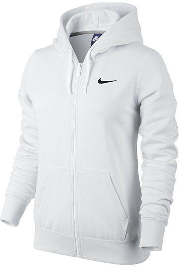 3c7d95467 Women's Fashion › Sweaters › Hoodies › jcpenney › Nike › White Hoodies Nike  Club Fleece Full Zip Hoodie ...