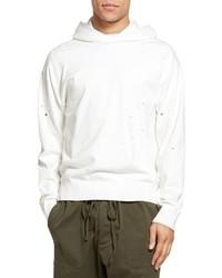 Distressed pullover hoodie medium 3750971