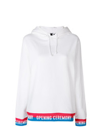 Opening Ceremony Drawstring Hoodie With Contrast Hem