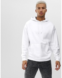 ASOS DESIGN Oversized Hoodie In White